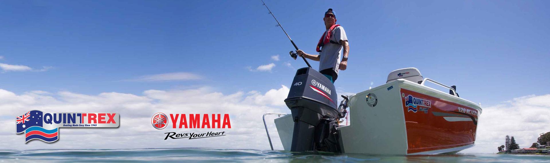 Quintrex and Yamaha